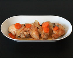 Pollo en Salsa Escabeche