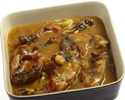 pollo salsa de soja